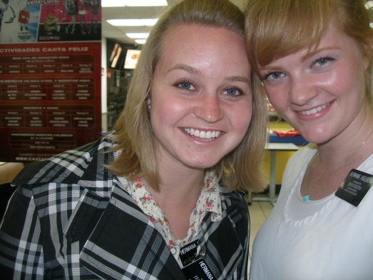 Hermana Anderson from Kaysville.  She's one of the coolest missionaries ever.